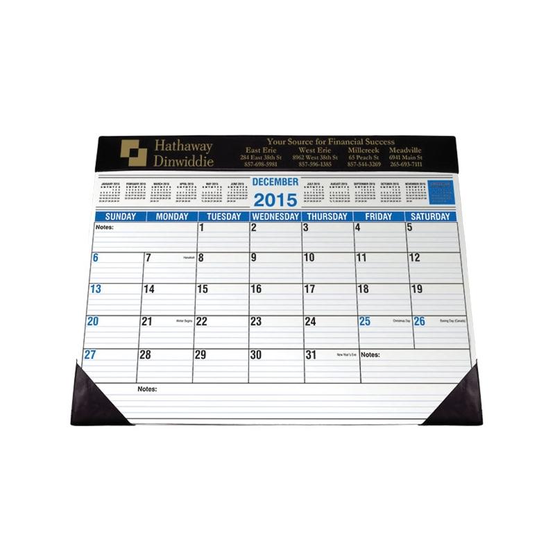 Full Size Desk Planner Custom Calendars Akron Alistpromos Com