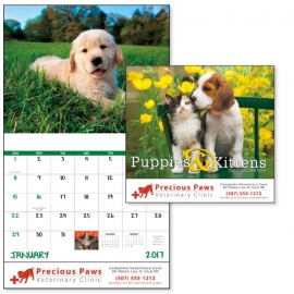 Puppies & Kittens Calendars