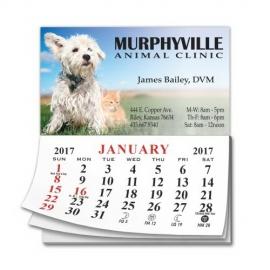 Calendar Pad Business Card Magnet