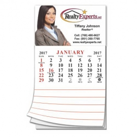Calendar Pad Business Card Magnet