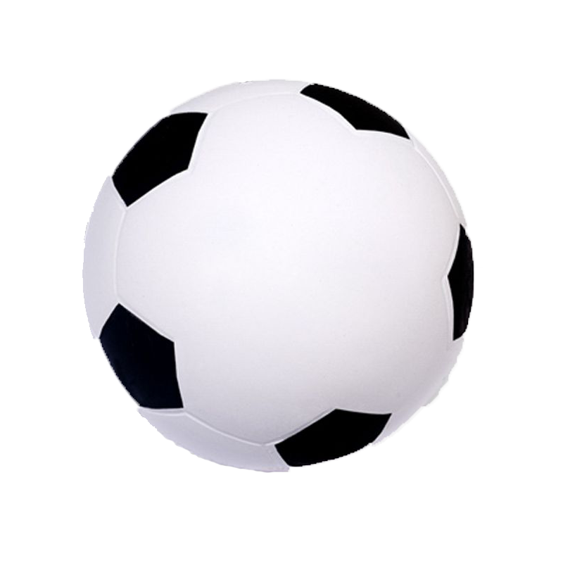 soccer ball stress reliever sports stress reliever. Black Bedroom Furniture Sets. Home Design Ideas