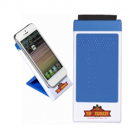 Mobile Phone Holder with Screen Cleaner