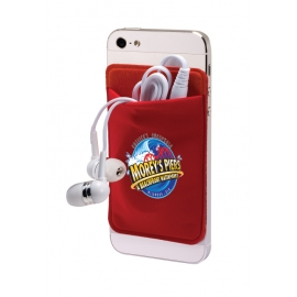 Mobile Pocket & Earbud Set