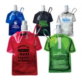 T-Shirt Shaped Collapsible Water Bottle