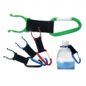 Carabiner with Bottle Holder