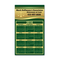 Green Square Corners Calendar